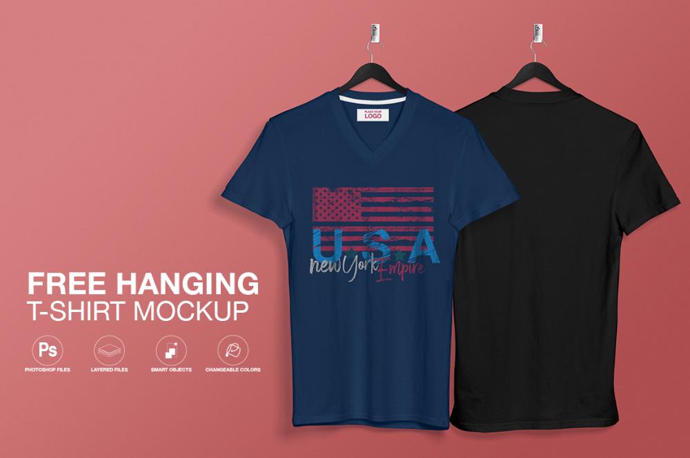 Download Free Hanging T Shirt Mockup Free Mockups Pixelify Net Shirt Mockup Tshirt Mockup Clothing Mockup