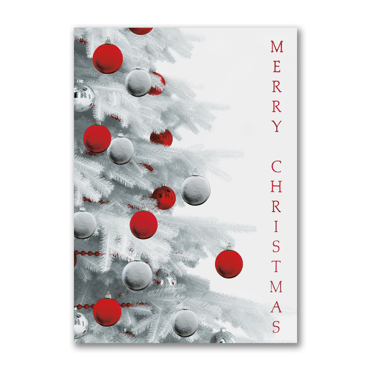 Merry tree snowy merry christmas holiday cards personalized for merry tree snowy merry christmas holiday cards personalized for business or family http magicingreecefo Images
