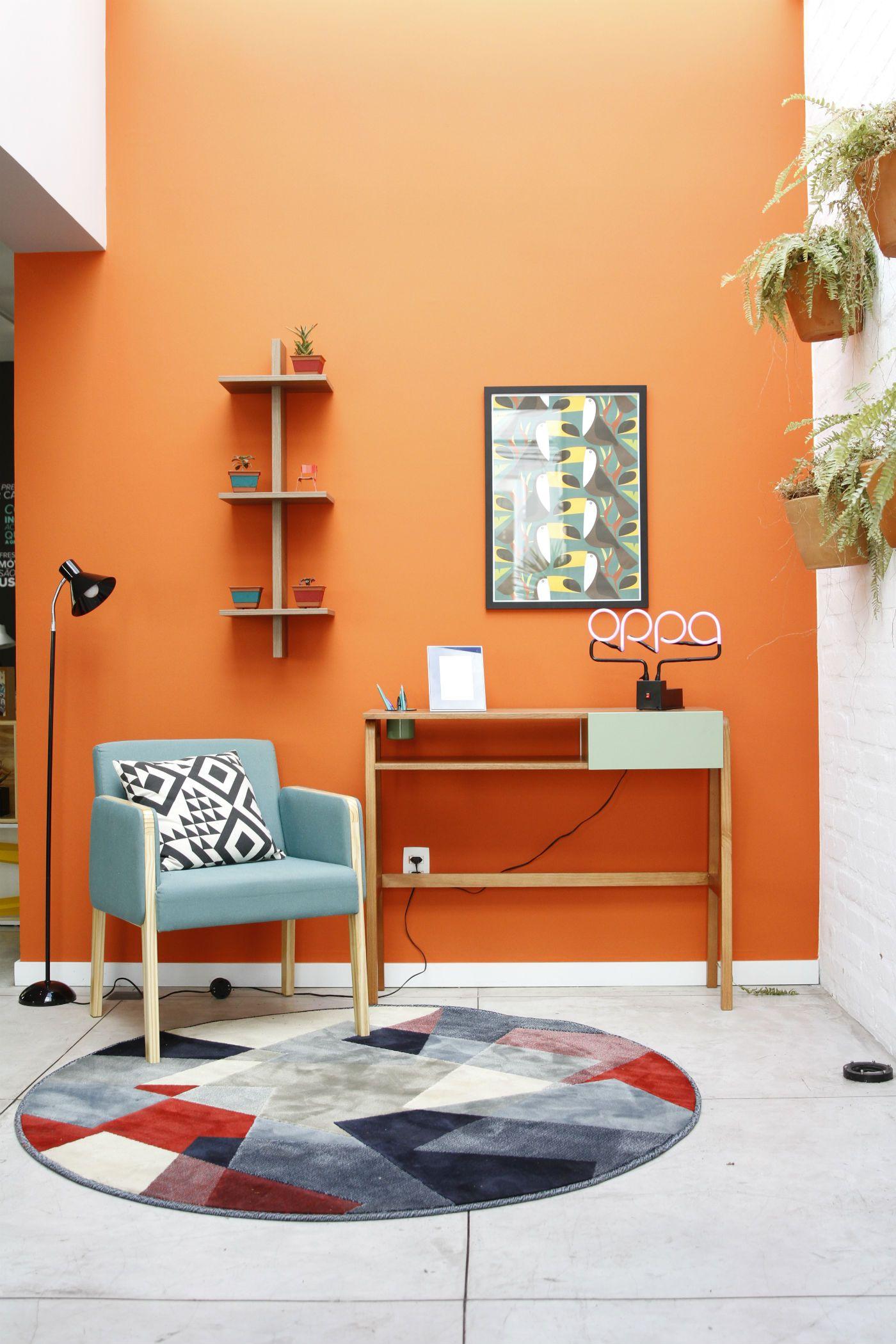 Cores Quentes Da Decoração Blog Oppa Salas Coloridas Cores Quentes Cores Para Sala