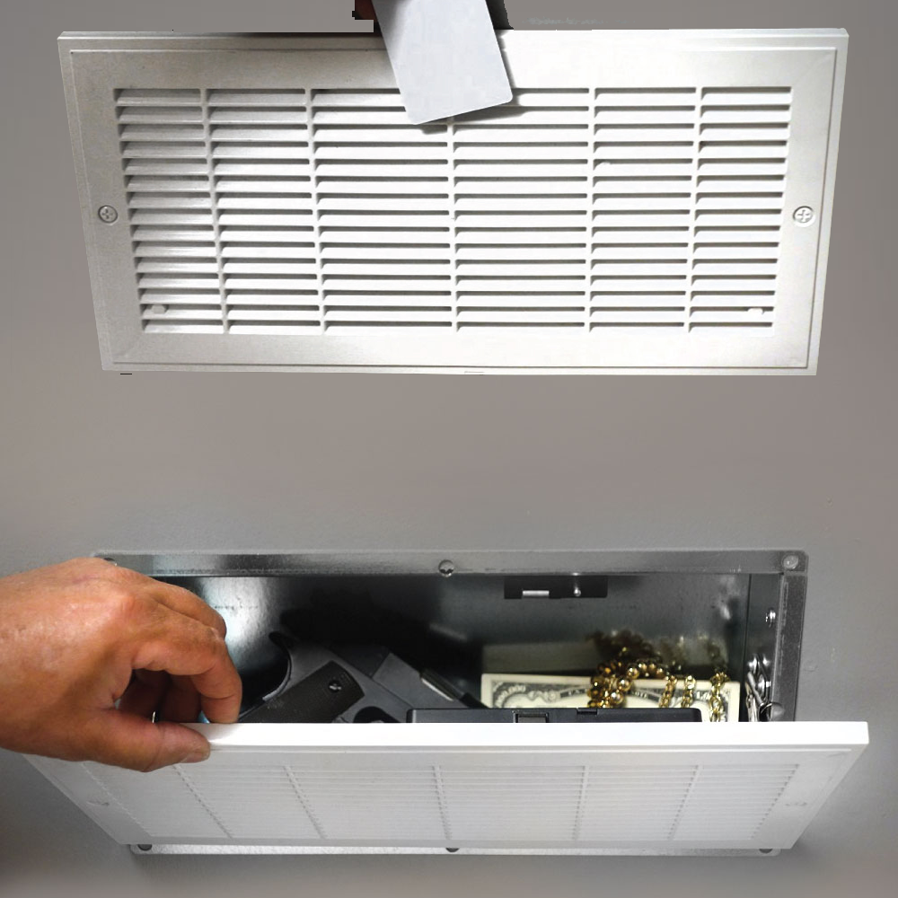 Fake Air Vent Safe With Rfid Lock With Images Vented Rfid Air Vent