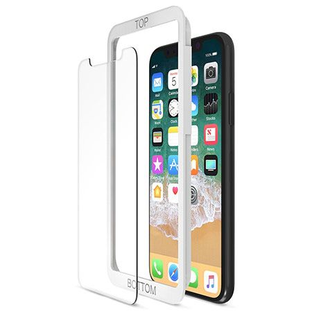 quality design 50d0d 30bb2 Maxboost Mid-Clear Screen Protector for iPhone X | Apple | Tempered ...