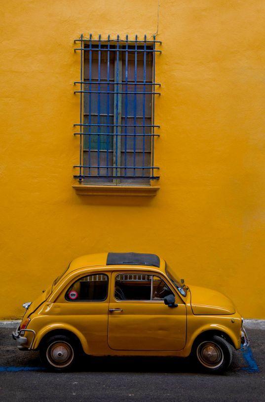 Yellow makes the ordinary extraordinary!