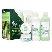 The Body Shop Aloe Skincare Regimen Kit | $40.00 #Gifts #Beauty #Accessories Visit Beauty.com for more.