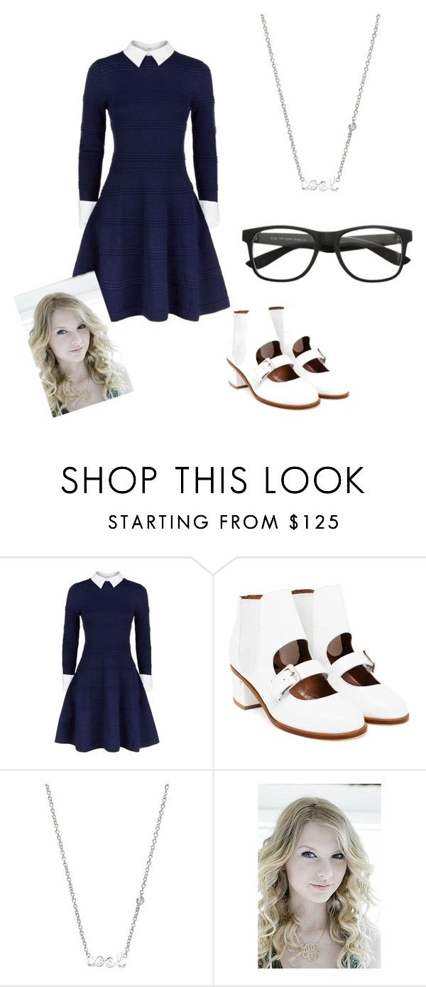 """""""Talk nerdy to me"""" by bjellandjenna ❤ liked on Polyvore featuring Alice + Olivia, Laurence Dacade, Sydney Evan, Jennifer Zeuner, women's clothing, women, female, woman, misses and juniors"""