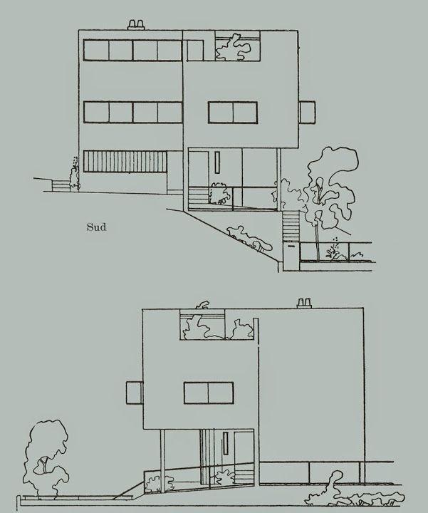 Stuttgart - Maisons, Cité de Weissenhof - Le Corbusier Le