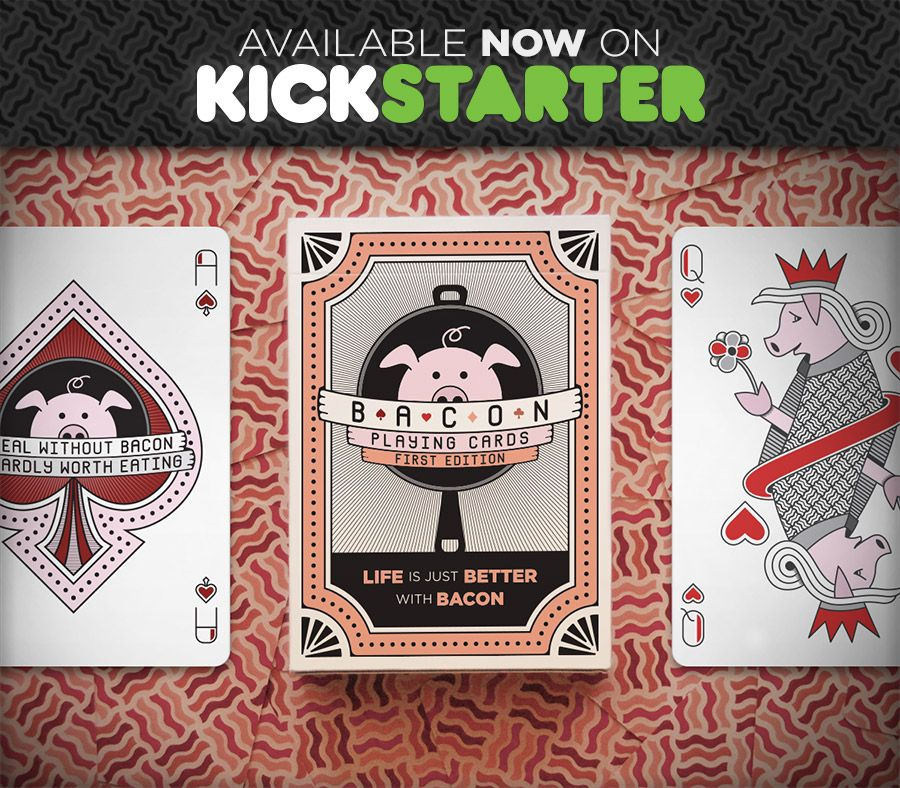 Bacon Playing Cards Cards, Card games, Playing cards