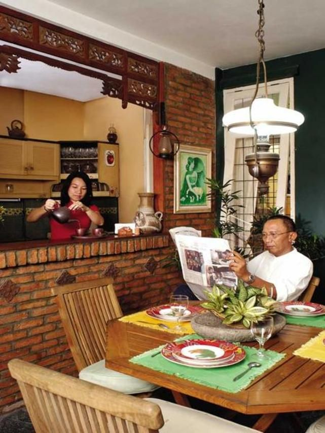 Idea Online Interior Ruang Makan Ruang Makan Terbuka Dengan