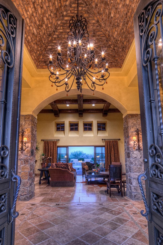 Mediterranean style home designers in az - Tour A Luxurious Mediterranean Style Home In Scottsdale Ariz