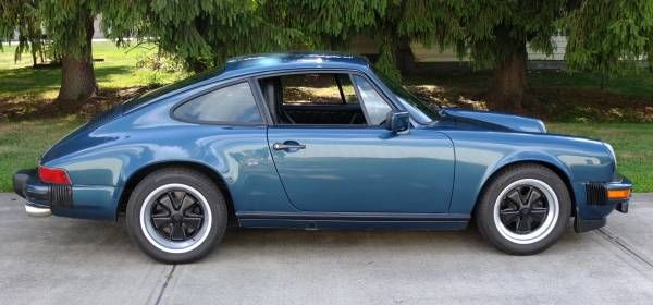Petrol Blue w/ Carrera Upgrades: 1980 Porsche 911 SC