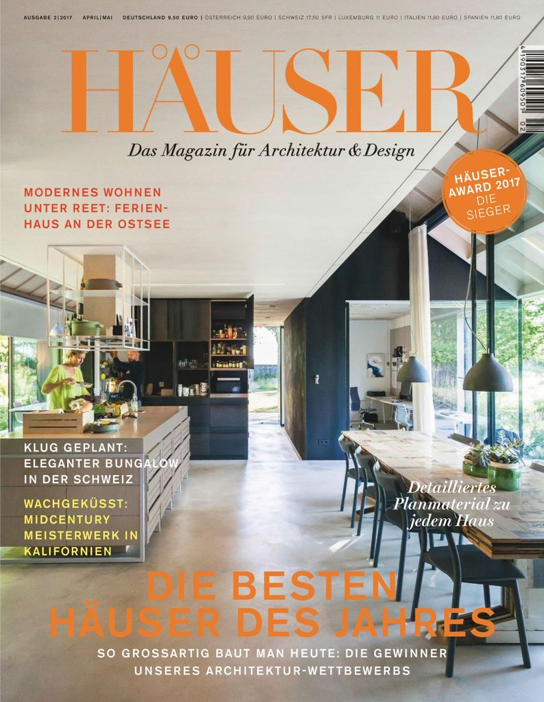 Häuser Back Issue 02 2017 Digital In 2020 World Architecture Festival Architect Architecture House