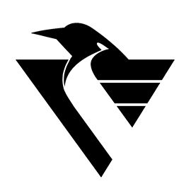 Nhl Pittsburgh Penguins Logo Stencil Pumpkin Stencil