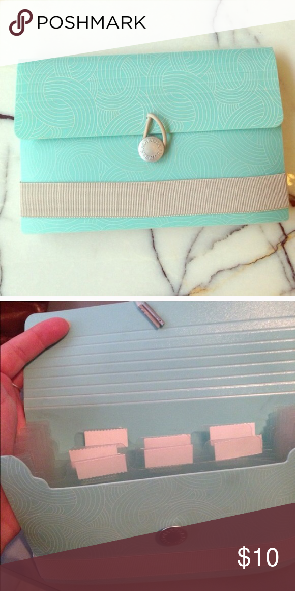 Martha Stewart Organizer Perfect For Storing Business Cards Notes