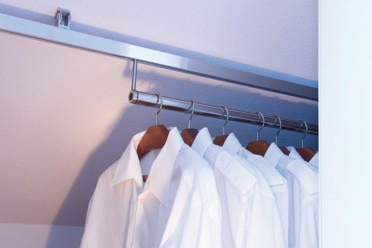 dressglider - Lösung Dachschräge bewegliche Kleiderstange ...