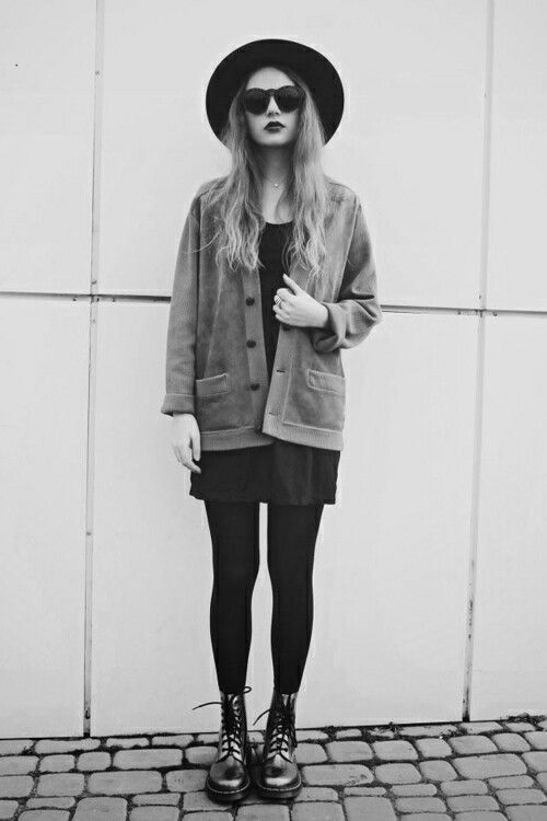 Grunge | #IndieGrunge | Pinterest | Follow me I am and Fedoras