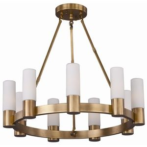 Maxim M22418SWNAB Contessa Mid Sized Chandelier Chandelier - Natural Aged Brass