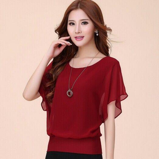 76ed1dead ropa coreana blusas - Buscar con Google | moda | Blusa chifon ...