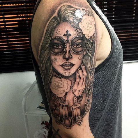 Explicamos El Significado De Los Tatuajes De Catrinas O Calaveras