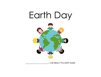 This 11 page earth day activity book includes a variety of