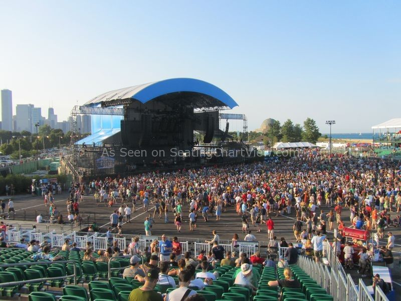 Firstmerit Bank Pavilion At Northerly Island Seating Chart View We Have Tickets To All Shows