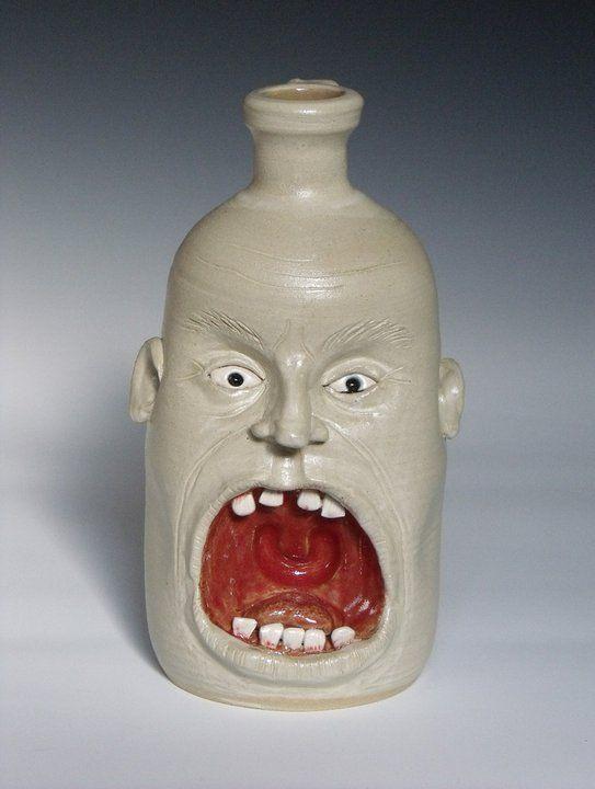 Face Jugs -Kuehn Pottery