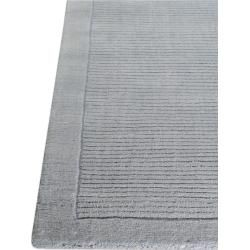 Photo of benuta Naturals wool carpet plain blue 240×340 cm – natural fiber carpet from Wollebenuta.de