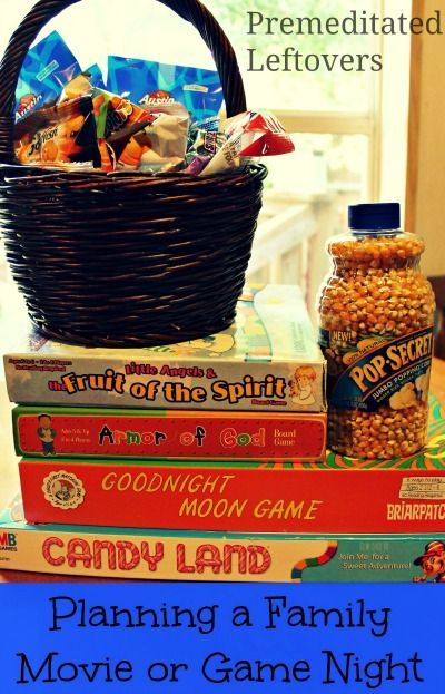 Family Movie And Game Night Ideas