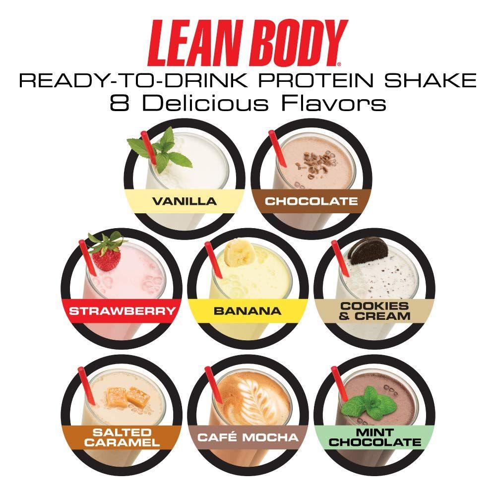 LABRADA Lean Body Ready To Drink Whey Protein Shake