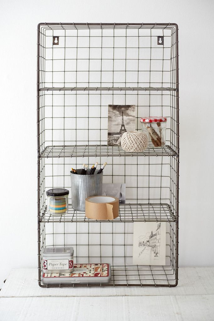 2 Cox and Cox wire wall rack