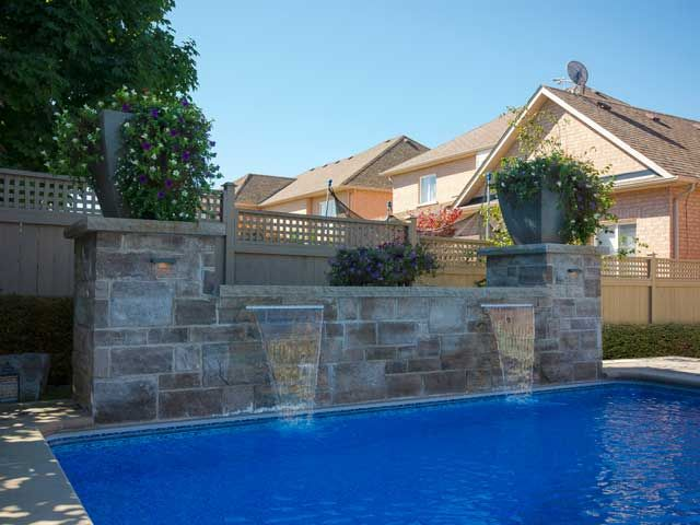 Retaining block waterfalls for pools - - Yahoo Image Search Results