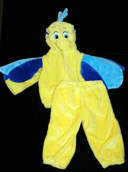 Disney Flounder Costume | excellent preowned conditions disney flounder costume from the little . & Disney costume infant baby flounder 12 18 months ariel little ...