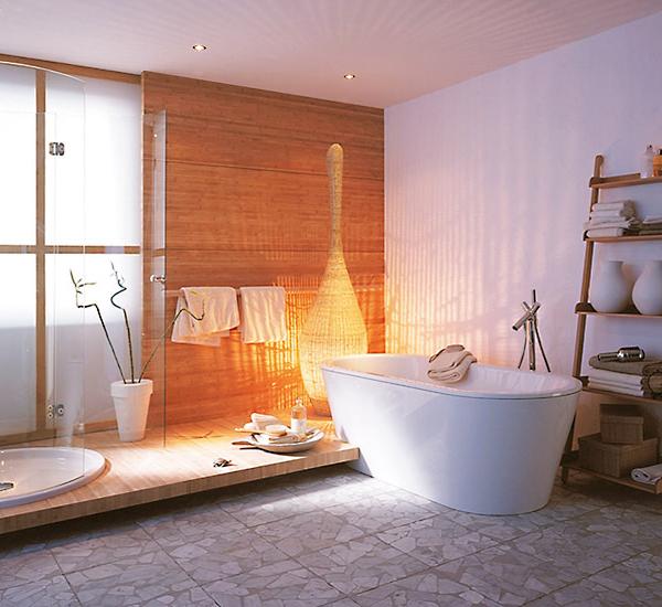 Fliesen Mit Naturstein-Dekor -badezimmer Fliesen Ideen