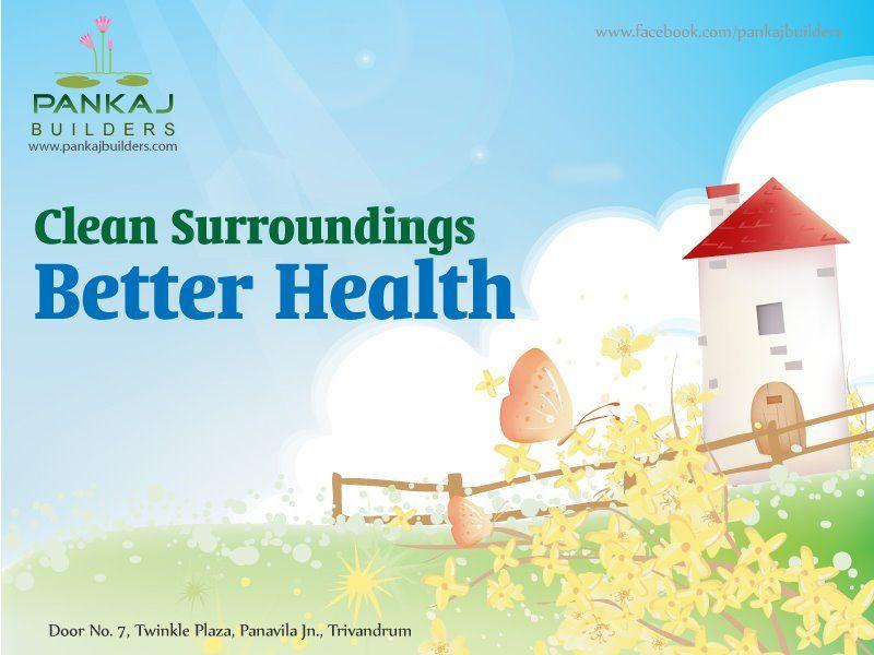 Clean Surroundings Better Health