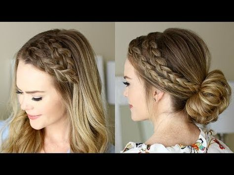 Dutch Headband Braid Tutorial Missy Sue Youtube Dutch Braid