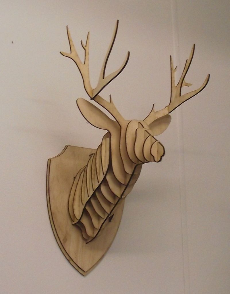 Diy Cardboard Deer Head Reindeer Head Sprays And