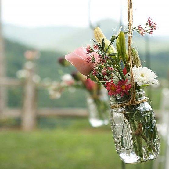 church flowers | A Girl Can Dream, Right? | Pinterest