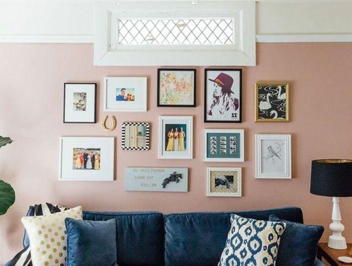 Couleur peinture salon - conseils et 90 photos pour vous inspirer - peinture beton cire mur