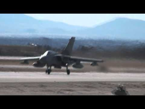 RAF Tornado's at Nellis