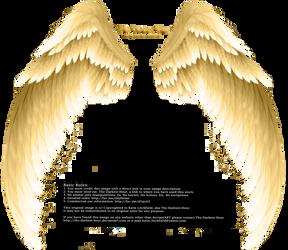 Alas Png Vector Material Alas Doradas Pintado A Mano Dorado Png Y Psd Para Descargar Gratis Pngtree Wings Png Wings Drawing Angel Wings Background
