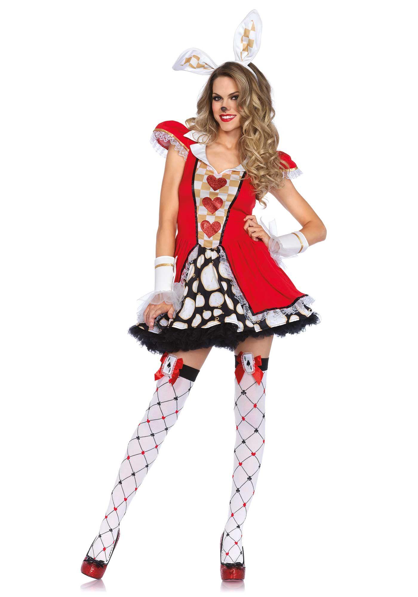 Adult white rabbit costume — img 13