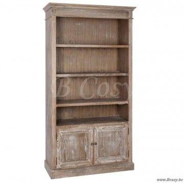 J-Line Landelijke boekenkast white wash 107 | #J-Line#Jolipa#JLine ...