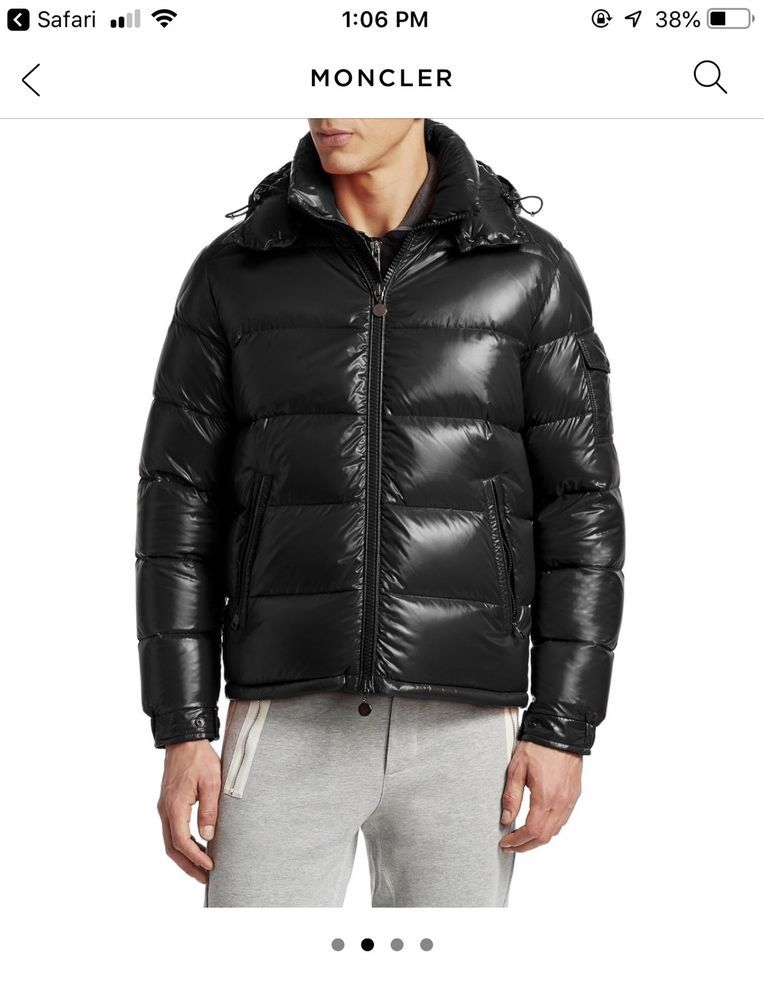 New Authentic Moncler Maya Down Jacket Men Size 4  fashion  clothing  shoes   accessories  mensclothing  coatsjackets (ebay link) fecba3b4943