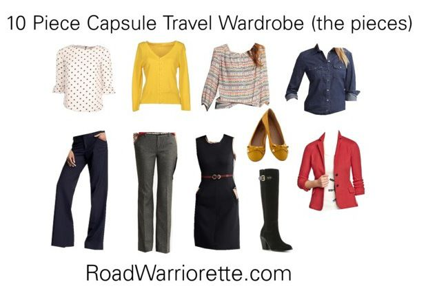 10 Piece Business Travel Wardrobe Road Warriorette 10 Piece Capsule Wardrobe Travel Capsule Wardrobe Fashion Capsule Wardrobe
