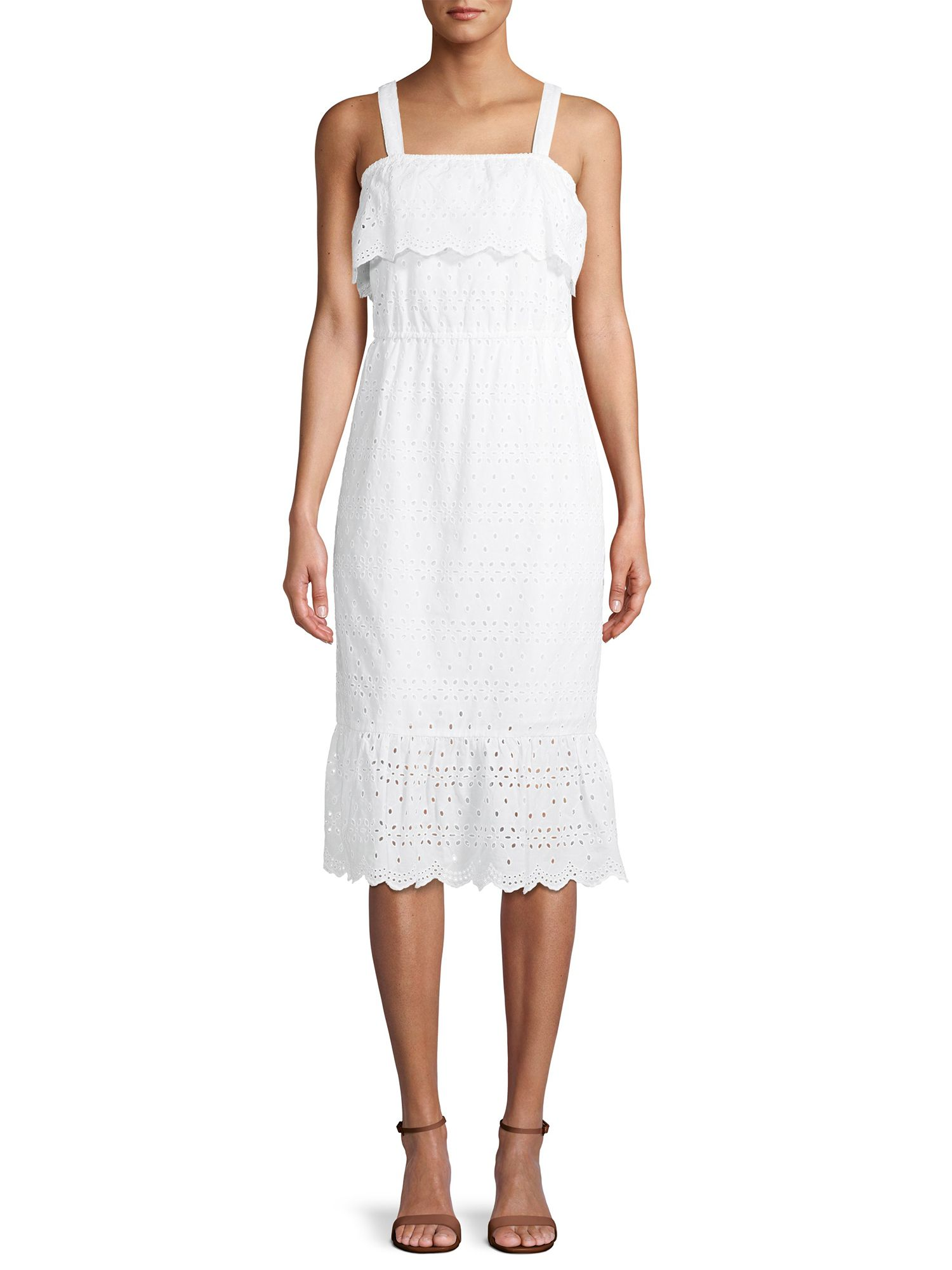 Time And Tru Time And Tru Women S Eyelet Dress Walmart Com Eyelet Dress Dresses White Eyelet Dress [ 2000 x 1500 Pixel ]