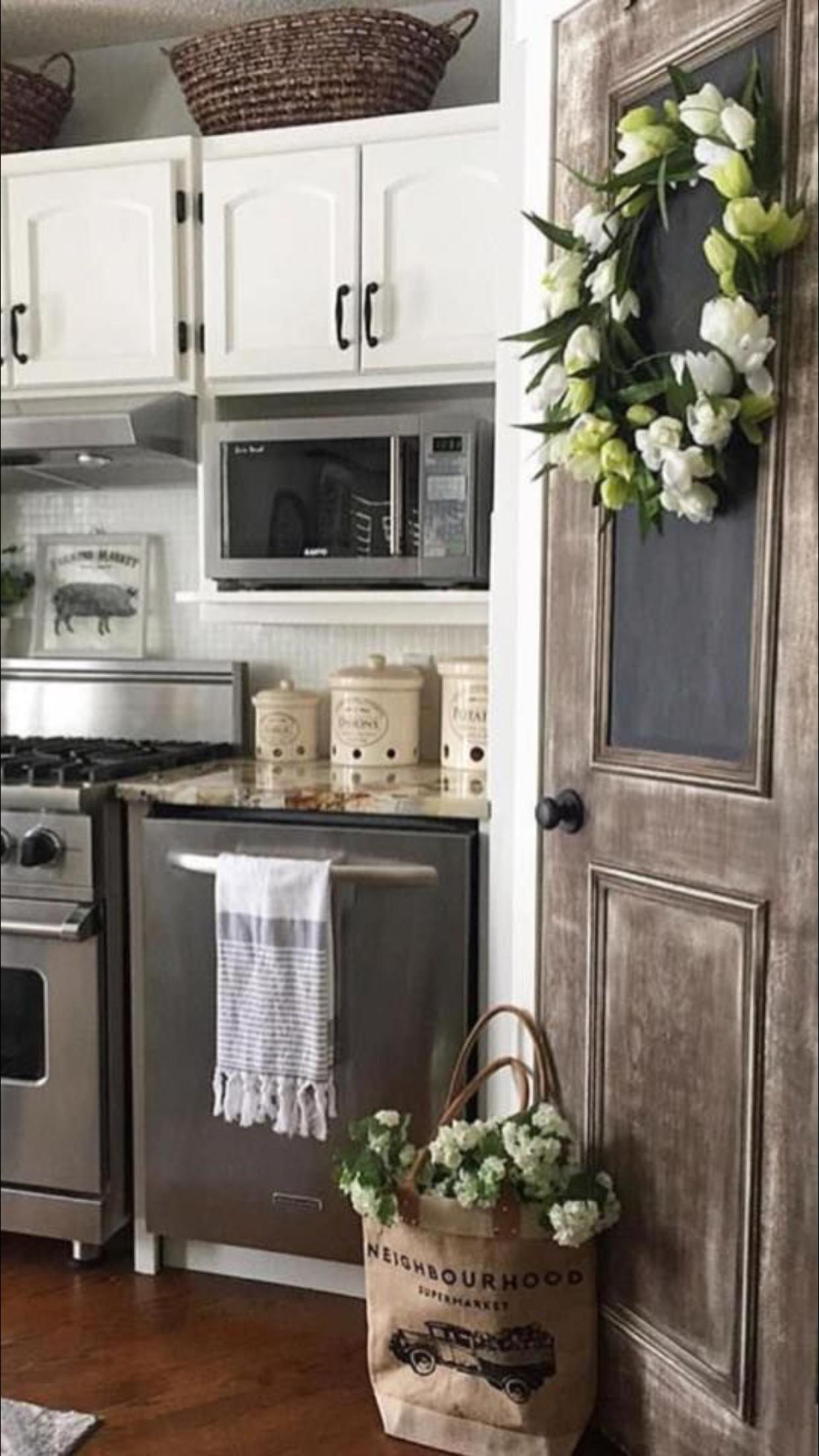 Pin by Marisa Newell on Decor   Farmhouse kitchen decor ...