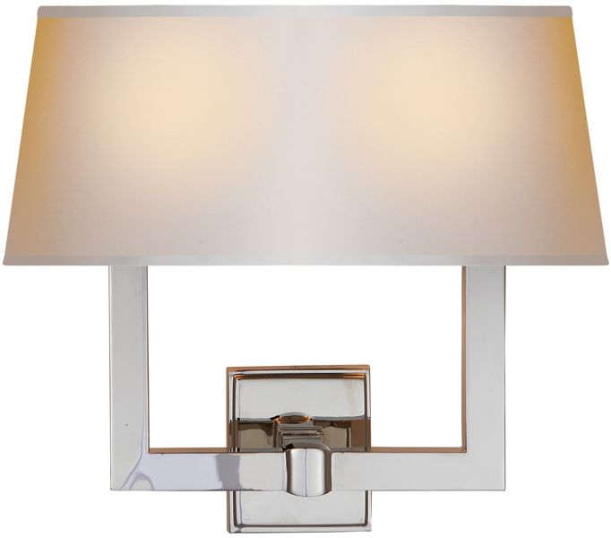 Circa Lighting Two Light Square Sconce 14 Tall 15