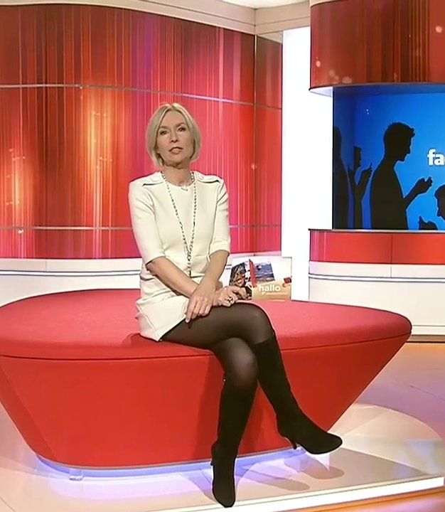 Fernsehfrauen in nylons