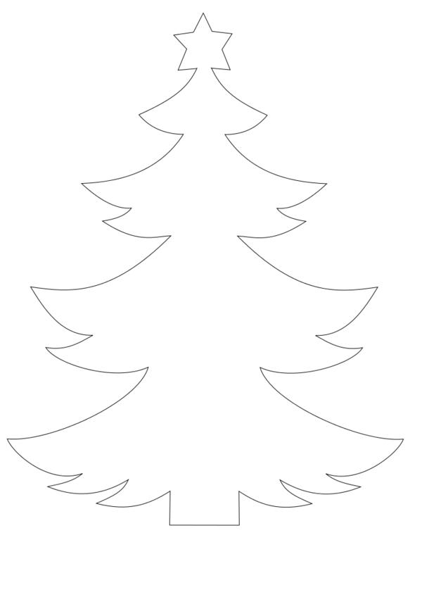 Weihnachtsbaum Vorlagen Dekoking Diy Bastelideen 1