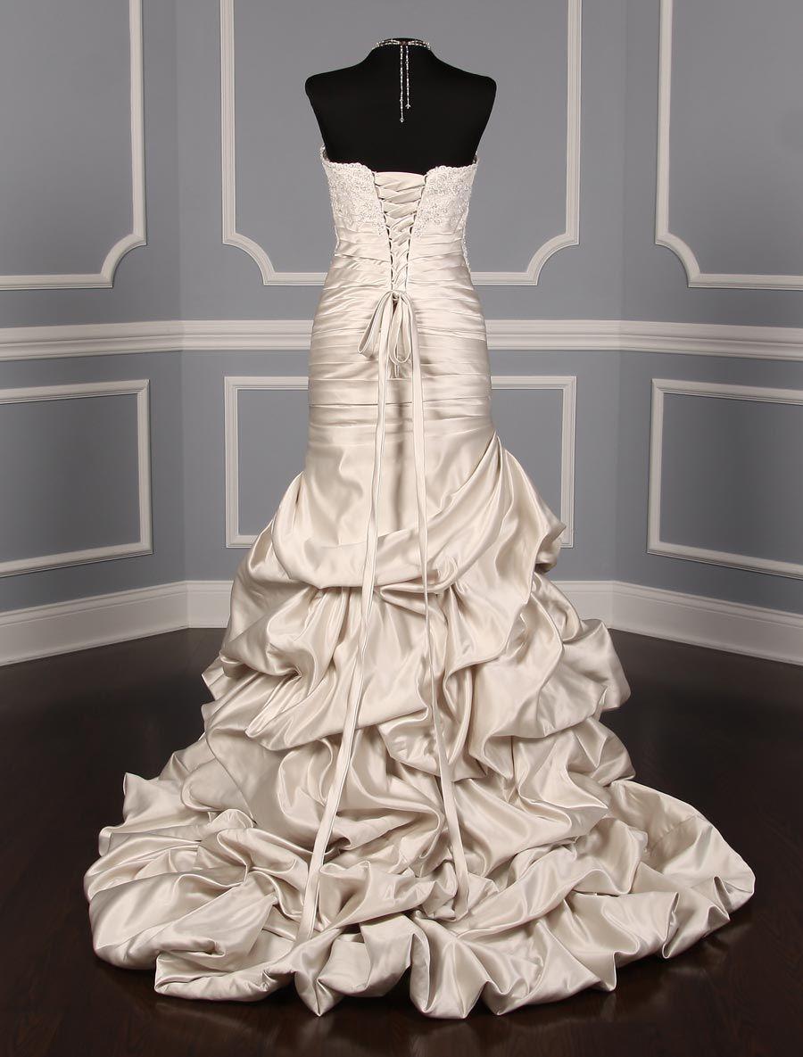 St Pucchi Vivienne 711 Wedding Dress Size 8 Beaded Wedding