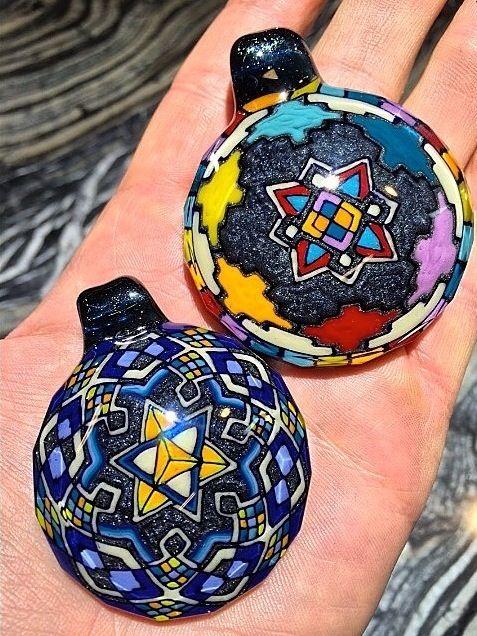 J red x wjc collaboration pendants borosilicate glass art j red x wjc collaboration pendants borosilicate glass art collaboration aloadofball Gallery