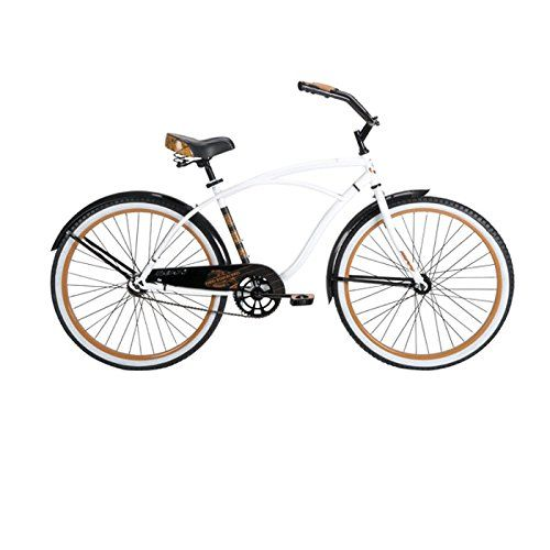 Special Offers Huffy Bicycle Company Mens Number 26625 Good Vibrations Cruiser Bike 26 Inch Gloss White In Stock Free Shipping You Can Save More Money C